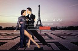Bailarinas Tango Festival - Création web arborescencia.net