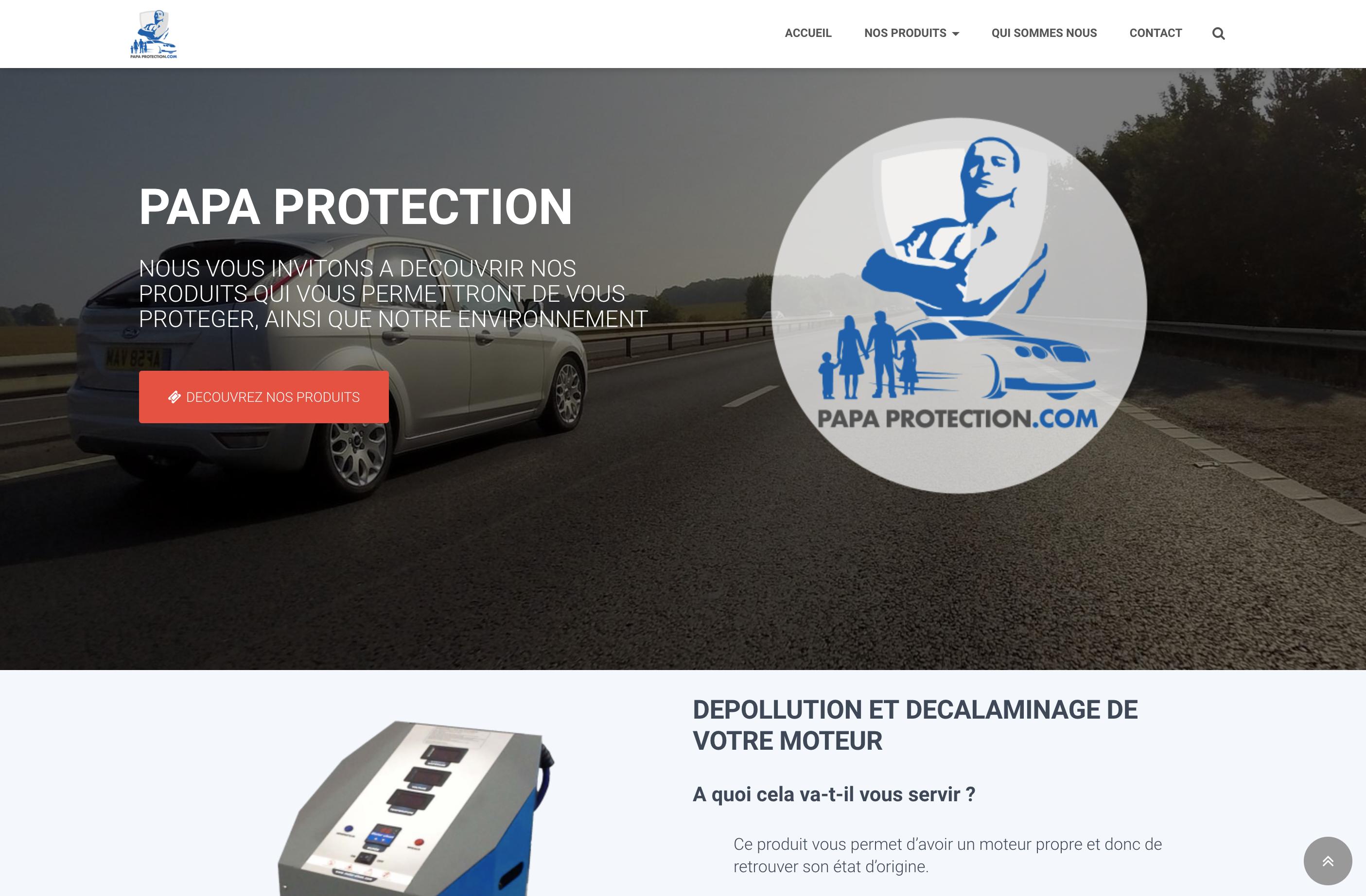 PAPA-PROTECTION.COM - création web arborescencia.net